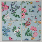 4 Ceramic Coasters in Cath Kidston Meadow